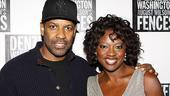 Fences Opening Night – Denzel Washington – Viola Davis
