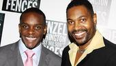 Fences Opening Night  Chris Chalk  Mykelti Williamson