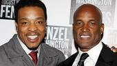 Fences Opening Night  Russell Hornsby  Kenny Leon 
