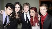 Everyday Rapture Opening Night – Max Schneider - Elizabeth Gillies – Eamon Foley – Ariana Grande – Riley Costello