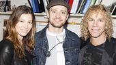 Justin Timberlake at Memphis – Jessica Biel – Justin Timberlake – David Bryan