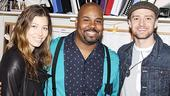 Justin Timberlake at Memphis  Jessica Biel - James Monroe Iglehart  Justin Timberlake