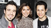 Jamie Lynn Sigler at In the Heights  Noah Rivera  Jamie Lynn Sigler  David Del Rio
