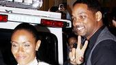 A-listers Jada Pinkett Smith and Will Smith are loving the Broadway scene: in addition to being enthusiastic audience members at Fences, they are also producers of Tony-nommed musical Fela!.