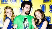 Dustin Diamond Shoot  Dustin Diamond  cheerleaders