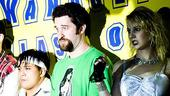 Dustin Diamond Shoot  Dustin Diamond  cast on stage