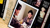 Flanking biographies is a framed photo of Seldes as Carlotta Vance in Dinner at Eight, a 2002 performance that earned one of her five Tony nominations.