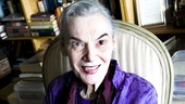 Wearing her signature color, violet (including a beautiful cocktail ring), Lifetime Achievement Tony Award winner Marian Seldes welcomes Broadway.com into her home on Central Park South.