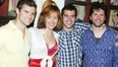 Alice Ripley at Sardi's – Kyle Dean Massey – Alice Ripley – Adam Chanler-Berat – Louis Hobson