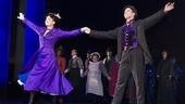 New stars Laura Michelle Kelly and Christian Borle take their first Broadway bows as Mary and Bert.