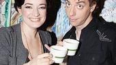 New Mary Poppins Stars 2009 at Sardi's – Laura Michelle Kelly - Christian Borle (tea2)