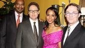 Stars David Alan Grier, James Spader, Kerry Washington and Richard Thomas reconvene at their bash at the Redeye Grill to party with a bevy of starry well-wishers.