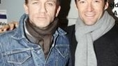 We've gotta start with a snapshot of our favorite fundraising duo, Daniel Craig and Hugh Jackman.