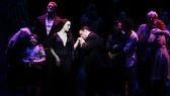 Addams Family Chicago opening  Bebe Neuwirth  Nathan Lane (stage kiss)