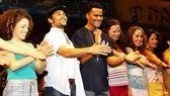 Corbin Bleu opens at In the Heights - Marcy Harriell - Corbin Bleu - Christopher Jackson - Mandy Gonzalez - Andrea Burns