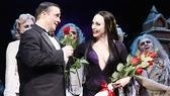 The Addams Family opening  cc -Nathan Lane  Bebe Neuwirth rose