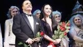 The Addams Family opening  cc - Nathan Lane  Bebe Neuwirth bow