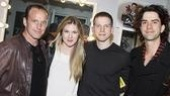 Lea Michele Visits American Idiot - Clark Gregg  Lily Rabe - Stark Sands  Hamish Linklater 