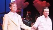 Behold, Georges and Albin: La Cage aux Folles stars Kelsey Grammer and Douglas Hodge step forward for their curtain call.
