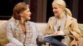 Linda Lavin as Ruth Steiner and Sarah Paulson as Lisa Morrison in Collected  Stories.