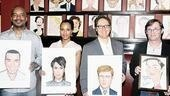 Sardi&amp;rsquo;s newbies Grier, Washington and Spader join their co-star Richard Thomas (who already had the honor) to complete Race&amp;rsquo;s presence at the theater institution.