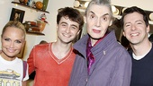 Daniel Radcliffe at Promises, Promises  Kristin Chenoweth  Daniel Radcliffe  Marian Seldes  Sean Hayes