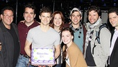 Brian d'Arcy James Returns to Next to Normal – group shot