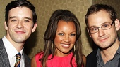 Ugly Betty pair Michael Urie, star of off-Broadway's The Temperamentals and Vanessa Williams, star of the Drama League-winning Sondheim on Sondheim served as hosts for the event. They are joined by affable Memphis star Chad Kimball.