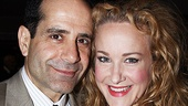 Lend Me a Tenor's Tony Shalhoub and Promises, Promises' Katie Finneran are both comic geniuses in their respective shows.