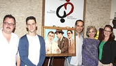 A nice group shot of co-stars and pals Jay Klaitz, Justin Bartha, Tony Shalhoub, Brooke Adams and Jennifer Laura Thompson.