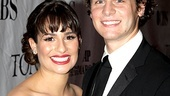 2010 Tony Awards Red Carpet  Lea Michele  Jonathan Groff