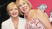 Speaking of guests of honor: Brady Bunch star Florence Henderson is in the house with syndicated radio sex-talk show host Dr. Joy Browne!