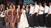 Rock of Ages wedding  bridal party  groomsmen  Mitch Jarvis