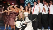 Rock of Ages wedding  Joel Hoekstra  wedding party