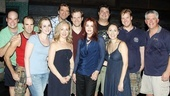 Priscilla Presley at Billy Elliot – group shot
