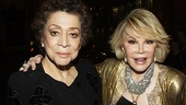 It Must Be Him Opening Night  Liz Torres  Joan Rivers