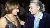 Patti LuPone Book Launch Party  Marian Seldes  Patti LuPone