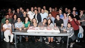 Jersey Boys 2,000th Performance – ensemble