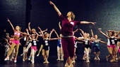 Billy Elliot Ballet Girls Open Call – Nadine - learning ballet combination