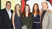 Julianne Moore at Freckleface Strawberry  creative team