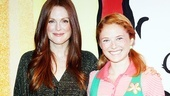Julianne Moore at Freckleface Strawberry  Julianne Moore  Hayley Podschun