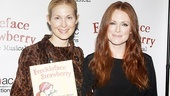 Freckleface Strawberry Opening Night – Kelly Rutherford – Julianne Moore