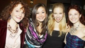 Hayley Podschun gets between choreographer Gail Pennington Crutchfield and director Buddy Crutchfield.