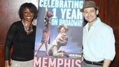 Memphis First Anniversary on Broadway  Montego Glover  Chad Kimball (sign)
