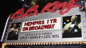 Memphis First Anniversary on Broadway  sign