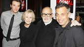Normal Heart Benefit Reading – Jason Butler Harner – Glenn Close – Larry Kramer – Joe Mantello
