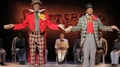 Colman Domingo as Mr. Bones and 	Forrest McClendon as Mr. Tambo The Scottsboro Boys.