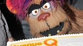 Trekkie Monster is ready to dig into some cake.