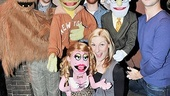 Cullen R. Titmas, Becca Ayers, Rob Morrison and Jed Resnick know it does not suck to be a cast member of Avenue Q.