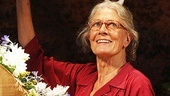 Driving Miss Daisy Opening Night – Vanessa Redgrave (curtain call, waving)